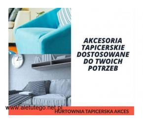 Hurtownia tapicerska AKCES - artykuły dla szwalni i tapicerów